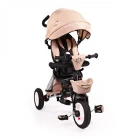 2f0e14f007c Byox Τρίκυκλο Αναδιπλούμενο Ποδήλατο Με Μπάρα Καθοδήγης Flexy Lux Beige  (3800146242725)