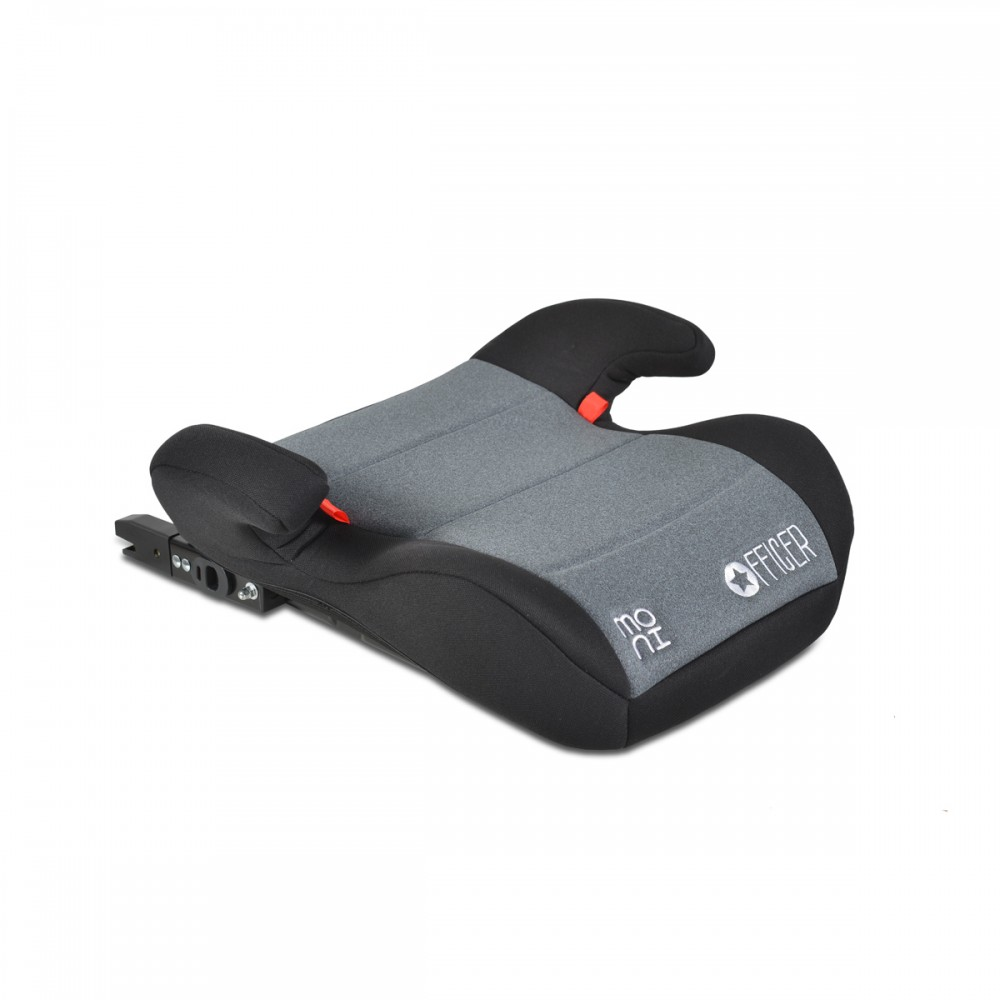 Cangaroo Κάθισμα Αυτοκινήτου Officer Booster Isofix 22-36kg - Dark Grey (3801005150458)