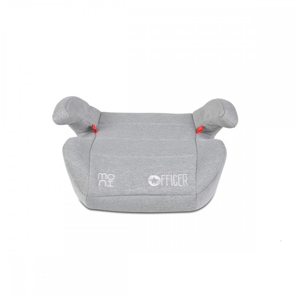 Cangaroo Κάθισμα Αυτοκινήτου Officer Booster Isofix 22-36kg - Grey (3801005150441)
